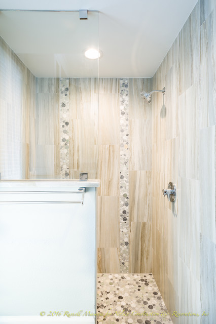 Palm Island Full Home Remodel Beach Style Bathroom Tampa By Nelson Construction