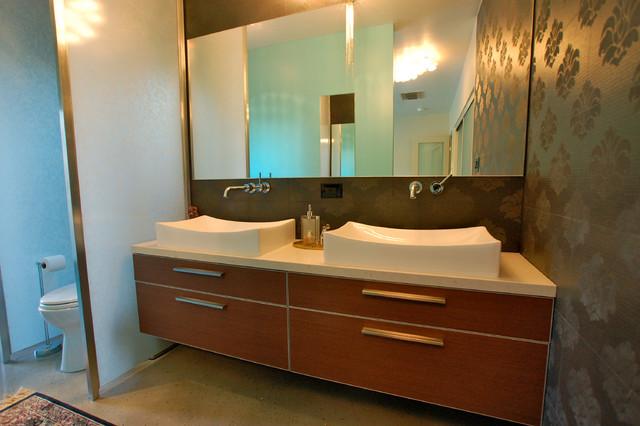 Palm Springs 1959 Meiselman Modern Bathroom