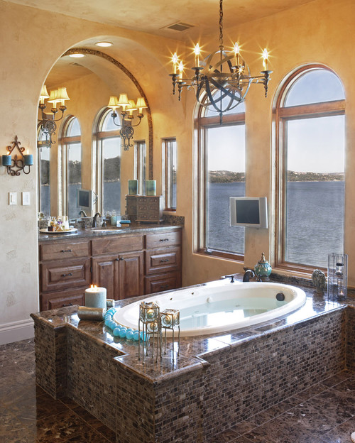 Charmant Mediterranean Bathroom By Austin Architects U0026 Designers Vanguard Studio Inc.