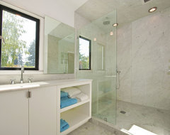 Palo Alto Contemporary Remodel modern bathroom