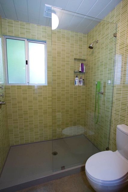 Palo alto eichler bathroom remodel for 7x8 bathroom ideas