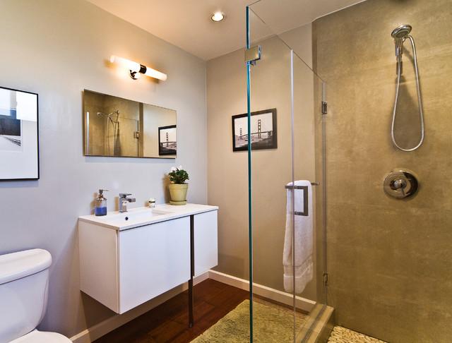 Palo alto eichler remodel contemporary bathroom san - Houzz palo alto ca ...