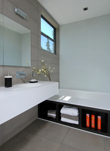 Palo Alto house 1 contemporary bathroom