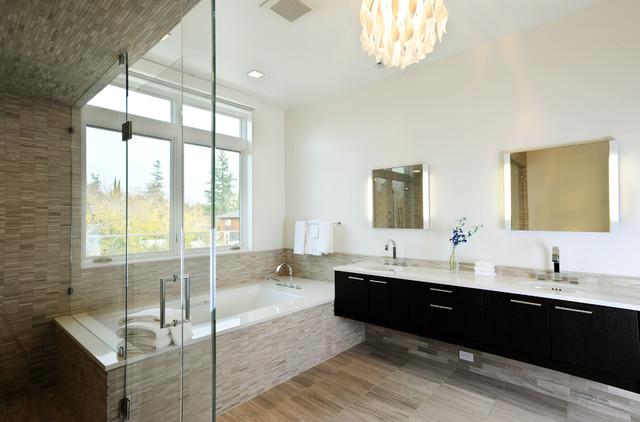 Palo Alto Penthouses Contemporary Bathroom San