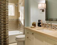 Palo Alto Residence transitional-bathroom