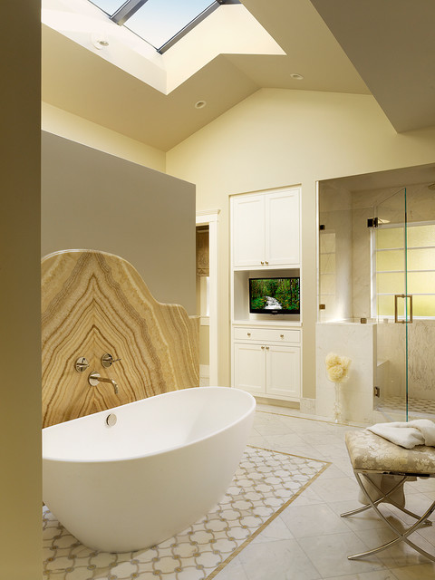 Palo Alto Residence transitional-bathroom