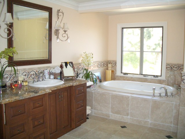 Palos Verdes Estates- Private Residence traditional-bathroom