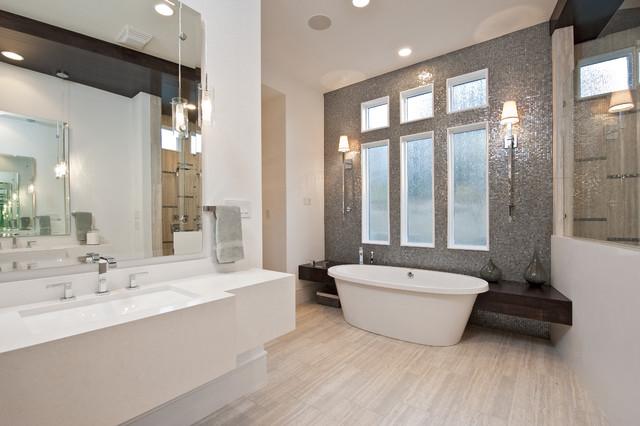 Parade of Homes- Bath contemporary-bathroom