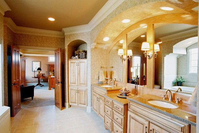 Parade of Homes House traditional-bathroom