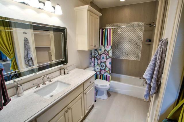 Parade of homes winner 2012 traditional bathroom for Bathroom remodeling oklahoma city