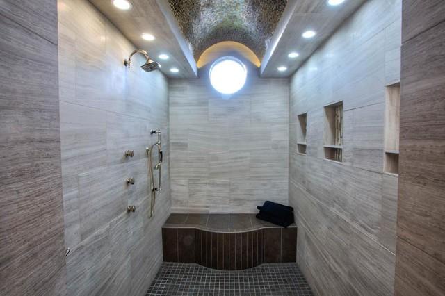 Parade of homes winner 2012 contemporary bathroom for Bathroom remodeling oklahoma city