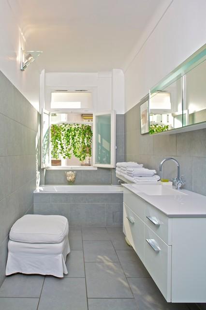 Paris 7th apartment contemporain-salle-de-bain