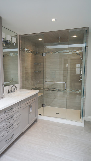 Parish Lane Ensuite Contemporary Bathroom Toronto By Oakville Kitchen And Bath Centre