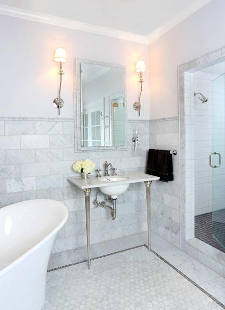 Paris Style Bathroom Decor: Parisian Inspired Master Bathroom Design