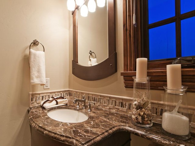 Park City Utah Showcase of Homes by Cameo Homes Inc. traditional-bathroom