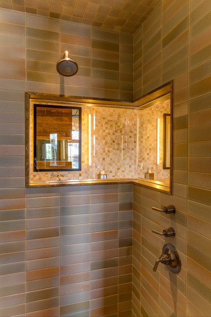 Park City Utah Eclectic Bathroom Salt Lake City By Tommy Chambers Interiors Inc