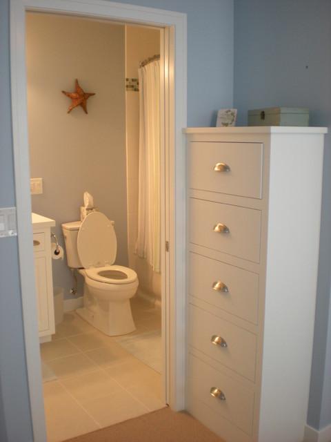 Park Front Lake Home beach-style-bathroom