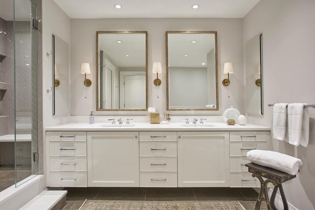 Park Hyatt Gut Rehab Transitional Bathroom Chicago By Studio CM - How to gut a bathroom