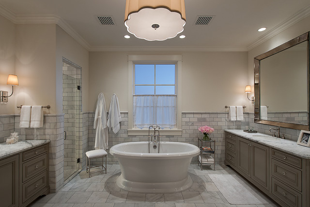 Park Place at Silverleaf traditional-bathroom
