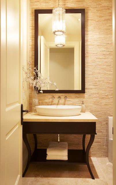 Park Side Retreat transitional-bathroom