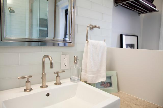 Park Slope, Brooklyn contemporary-bathroom