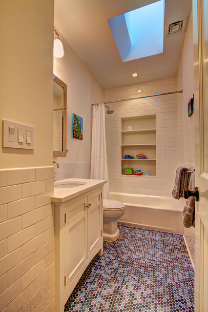 Park Slope Townhouse contemporary bathroom