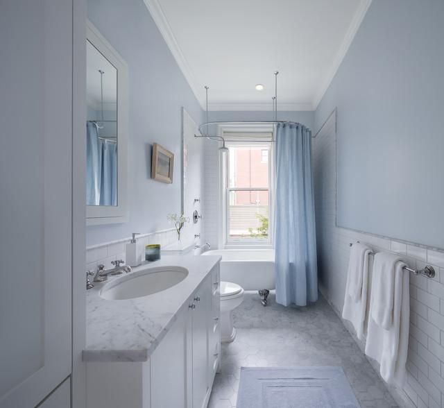 Park Slope Brownstone Victorian Bathroom New York