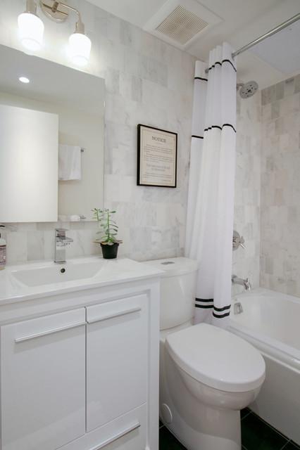 Park Slope Fixer-Upper - Eklektisch - Badezimmer - New York ...
