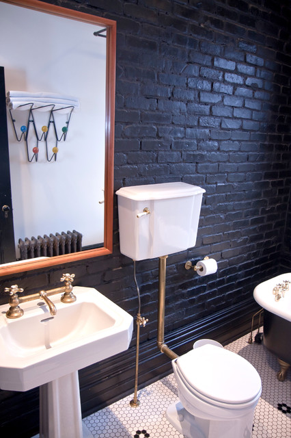 Traditional Bathroom by Jenn Hannotte / Hannotte Interiors