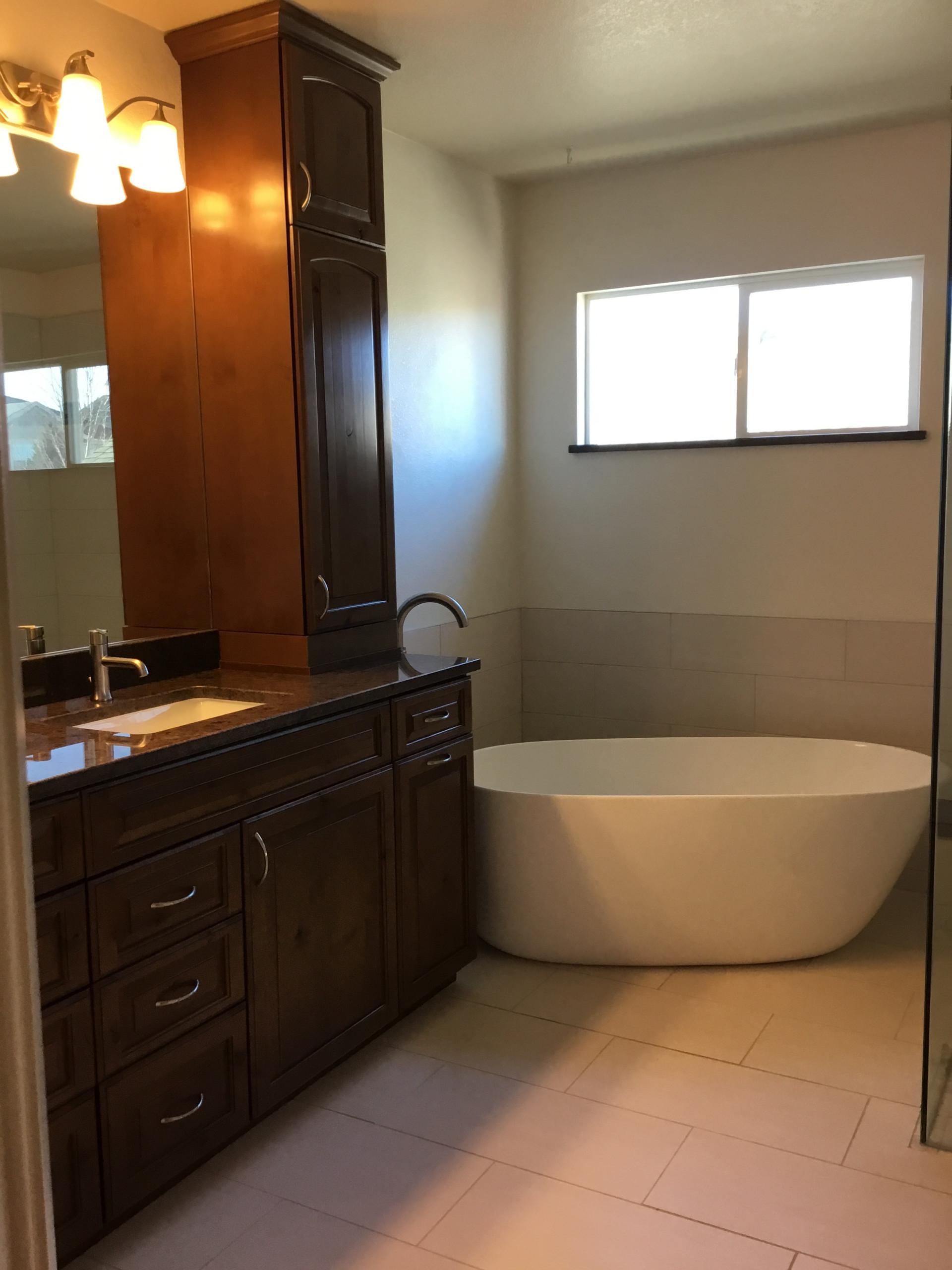 Parker Colorado Master Bath remodel