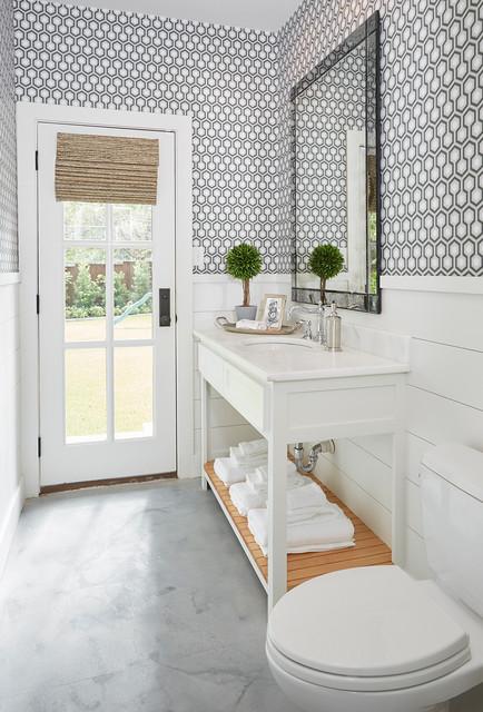 Parkford Project Guest Bath Farmhouse Bathroom