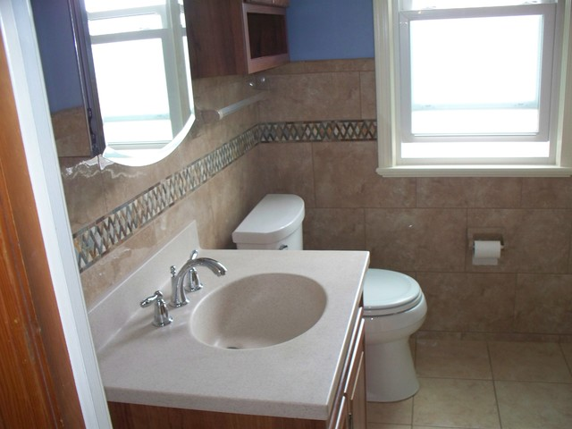 Parma Ohio 5 X 7 Small Bathroom Traditional Bathroom