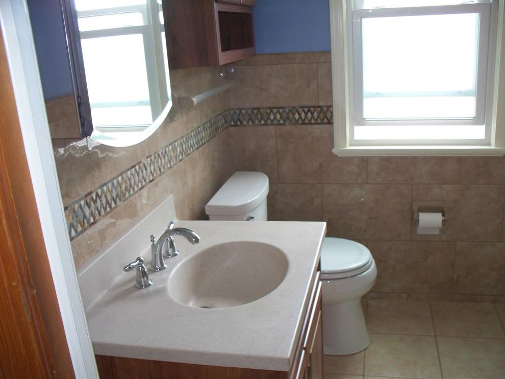 Parma Ohio 5' x 7' small bathroom - Traditional - Bathroom ...