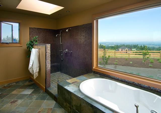 Parrett Mountain Bathroom contemporary-bathroom