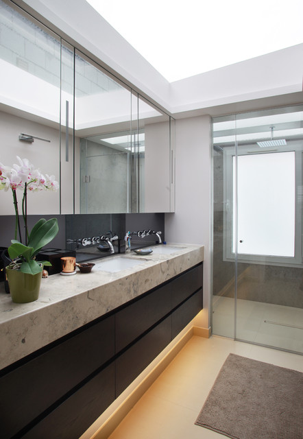 Parsons Green House Contemporary Bathroom London By Alex Maguire Photography