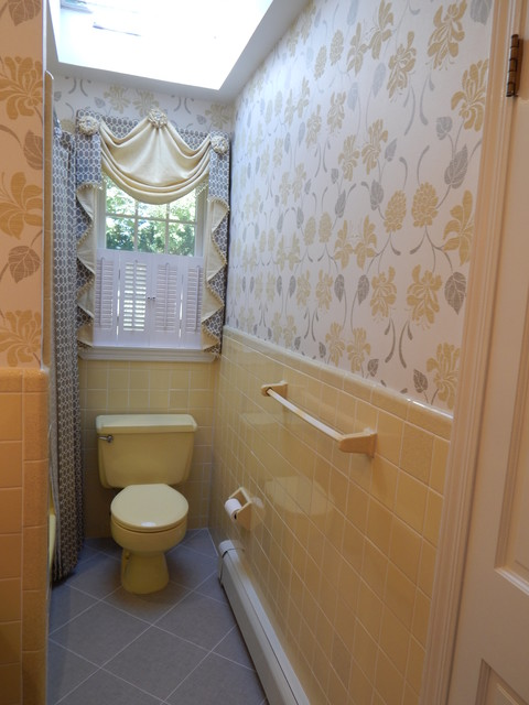 Partial Remodel S Bath Traditional Bathroom New York By - 1970 bathroom remodel