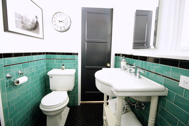 Retro Style Returns To A 1930s Bathroom