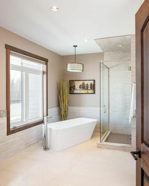 Pasadena Rustic Bathroom Edmonton By Jaywest