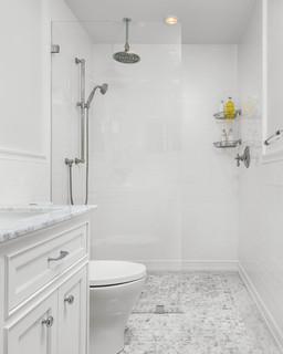 New PDMC Pasadena Midnight Chrome 2Handle Widespread WaterSense Bathroom