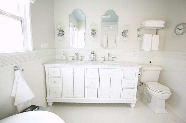Pasadena master bathroom traditional bathroom los for Design consultant los angeles