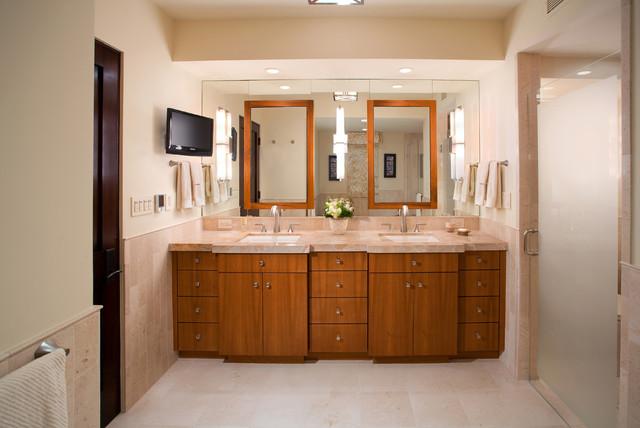 Pasadena Penthouse Contemporary Bathroom Los Angeles