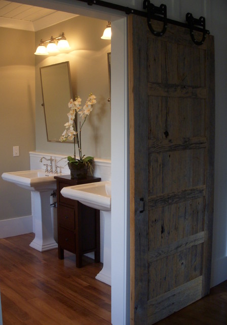 Pasture Lane - The Farm at Banner Elk - Master Bath traditional bathroom