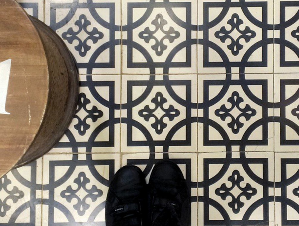 Patterned Art Deco Tile Look Sydney