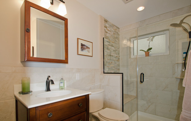 Patty 39 S Addition Traditional Bathroom Dc Metro By Merrick Design And Build Inc
