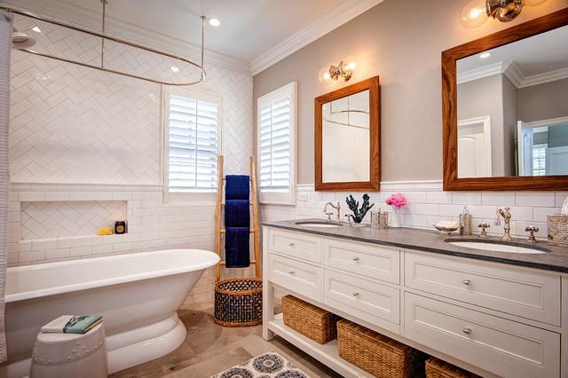 Peacful retreat bord de mer salle de bain san diego - Salle de bain bord de mer ...