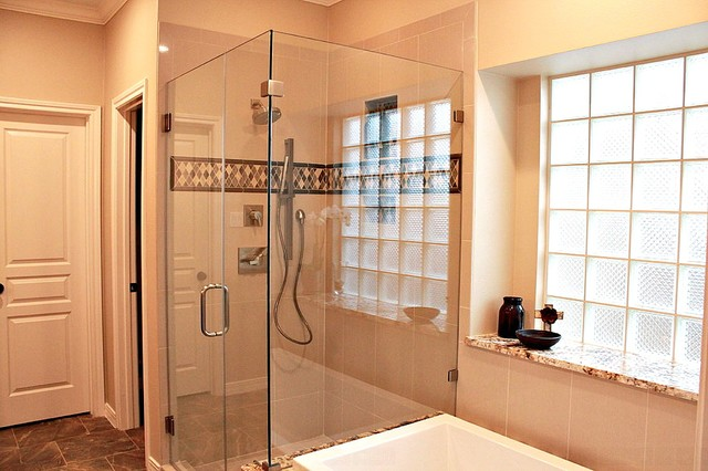Pearland master bath for Bathroom remodeling pearland tx