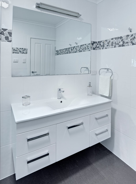 pebble marble bathroom modern bathroom adelaide by brilliant