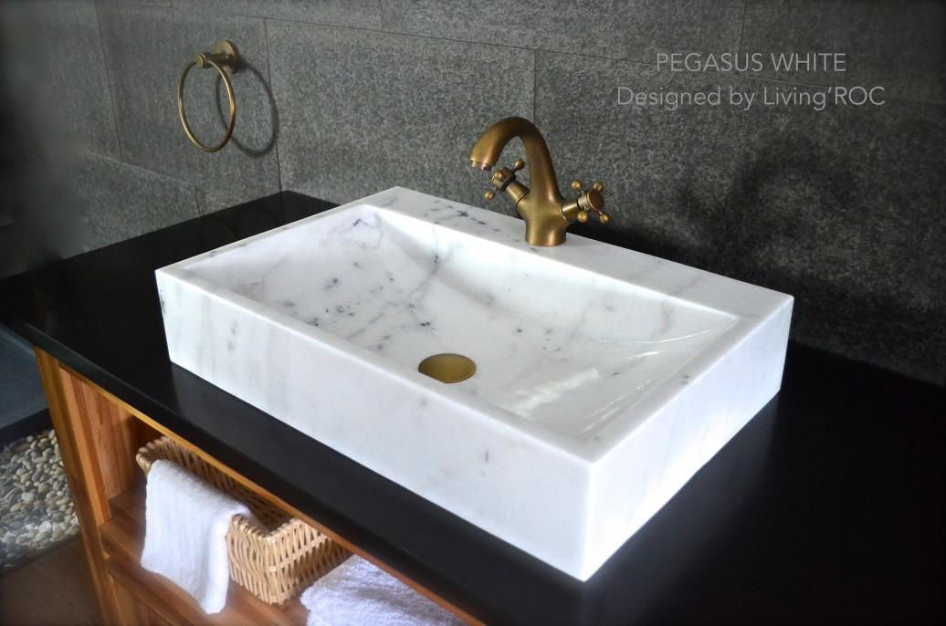 Marble Vessel Sink Houzz