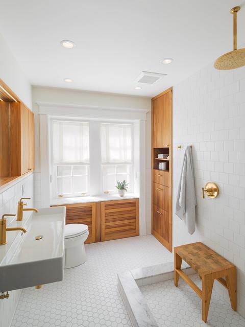 Pelham Master Bath Scandinavian Bathroom