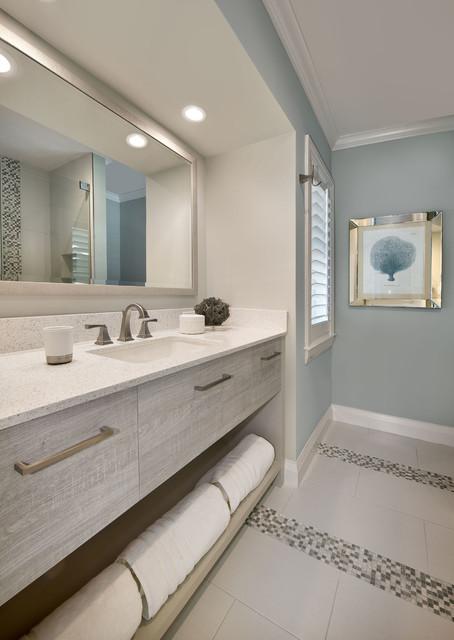 Pelican Bay Beach Style Bathroom Miami By PBS Contractors - Bathroom contractors miami